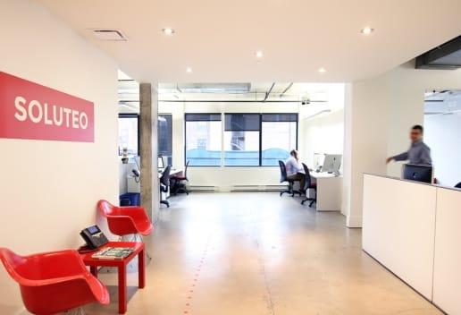 Soluteo a entrepreneurs g n raux for Bureau plus montreal
