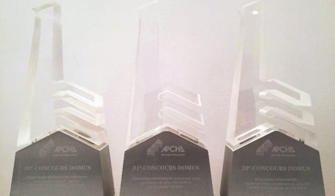 Gagnant 3e prix domus