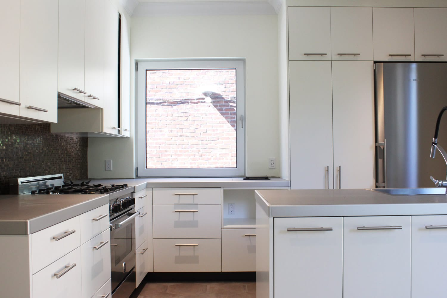 Cuisine Blanche Renovation Modernes Idees A