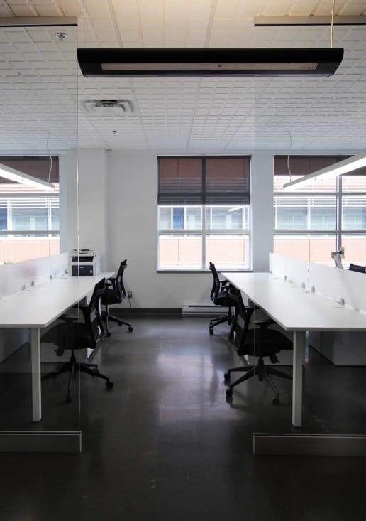 bureau moderne rue queen à montréal