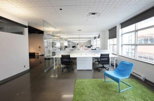 Bureau moderne à Montréal