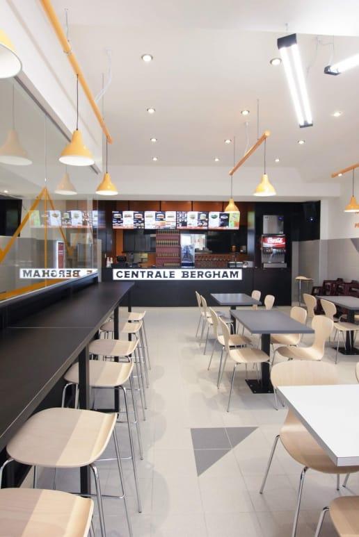 Rénovation d'un restaurant à Montréal