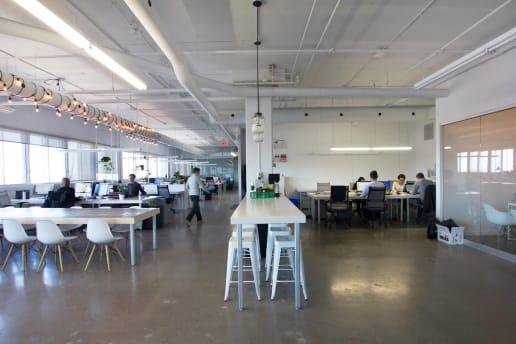 Bureaux modernes dans le Mile-end