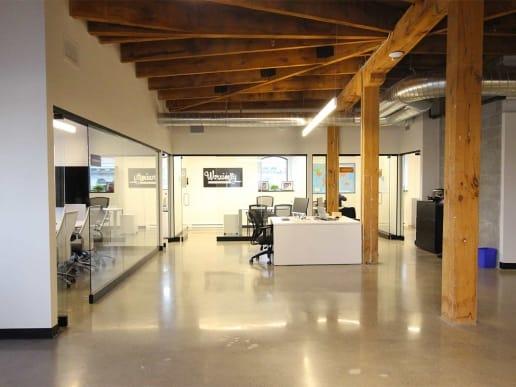 Rénovation d'un bureau à Montréal