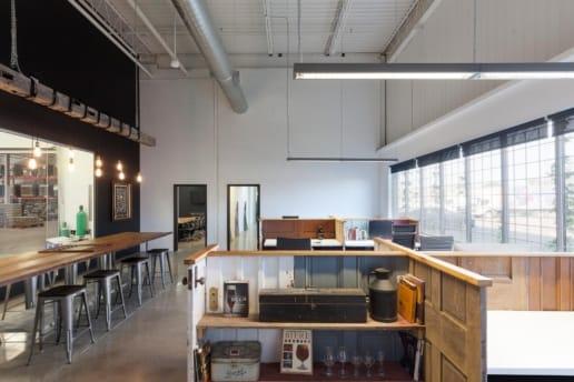Construction d'une brasserie à Montréal